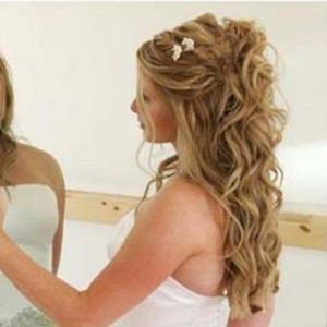 Penteados Para Noivas de Cabelos Cacheados – Fotos e Dicas