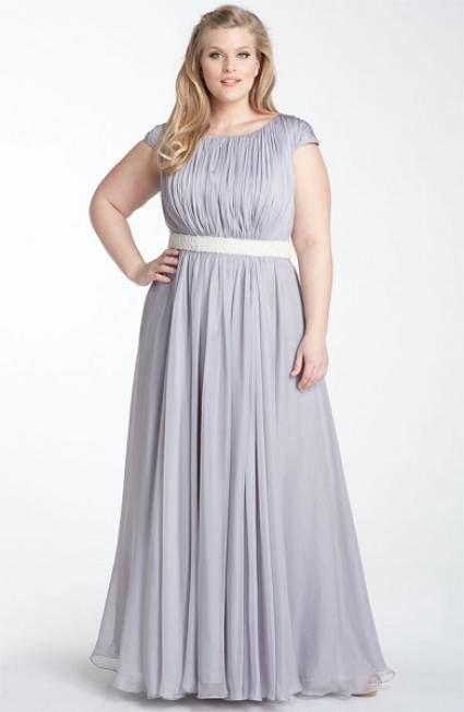 vestido-plus-size-cinza-longo