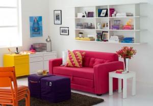 como-decorar-salas-colorida