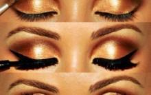 Maquiagem Dourada Para Inverno – Dicas e Passo a Passo