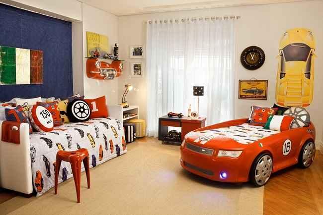 Quarto infantil com tema carros como fazer e fotos - Decoracion habitacion juvenil masculina ...