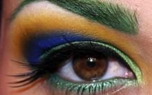 Como Maquiar o Rosto Para a Copa do Mundo 2014 – Ideias, Dicas, Fotos e Como Fazer