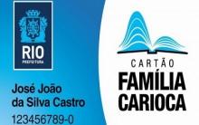 Cartão Família Carioca 2014 – Benefícios e Como Adquirir