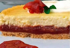 Cheesecake de Goiabada Fácil – Ana Maria Braga – Receita Exibida dia 23/07/2014