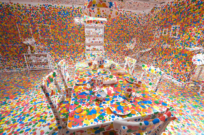 Yayoi Kusama: Look Now, See ForeverGallery of Modern Artinstallation view