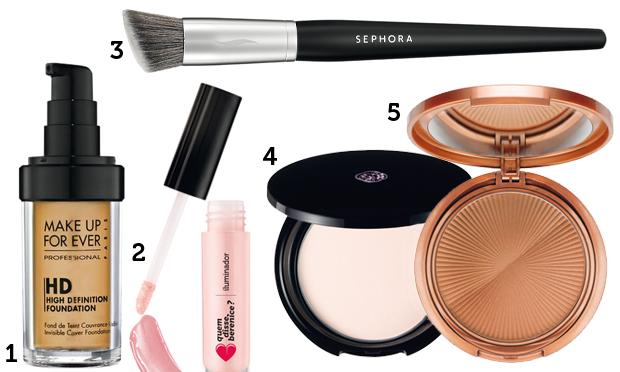 maquiagem-contorno-passo a passo - produtos