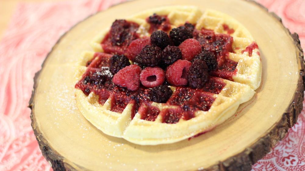 waffle-receita