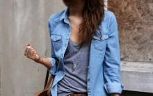 Camisa Jeans – Como Usar