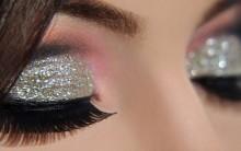 Tendência Maquiagem com Glitter – Dicas e Como Fazer