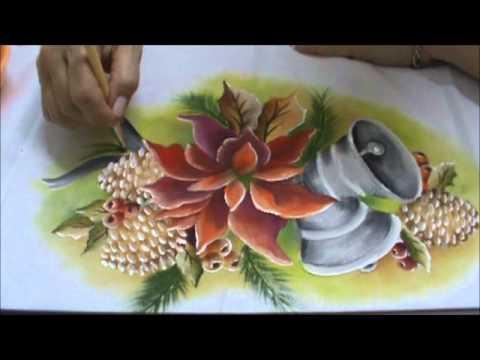 pintura-tecido-natal sino