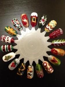 Pintar Unhas Para as Festas de Natal – Dicas e como fazer.