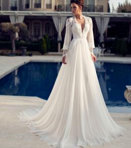 Tendência Vestidos de Noiva 2015 – Dicas e Fotos