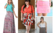 Saias Modelos Plus Size – Fotos e Como Usar