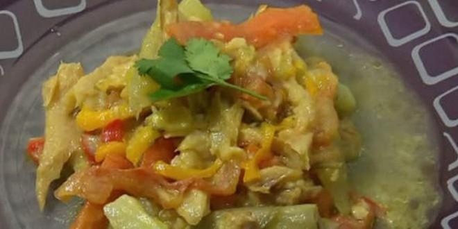 Bacalhau- legumes