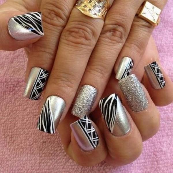 unha-decorada-prata