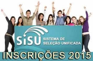 SISU – Sistema de Seleção Unificada/2015 – Inscrições Abertas – Como Participar