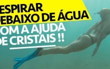 Cristal do Aquaman – Mergulhar Sem Tubo de Oxigênio