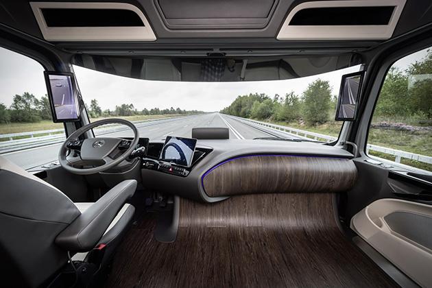CAminhão-sem-motorista-Mercedes