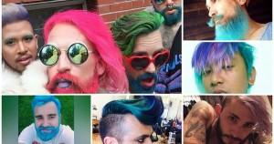 Cabelos Coloridos Para Homens – Unicorn Hair – Fotos
