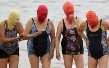 Facekini –  Proteção Contra os Raios de Sol