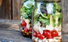 Salada em Pote de Vidro – Vantagens, Cuidados e Receitas