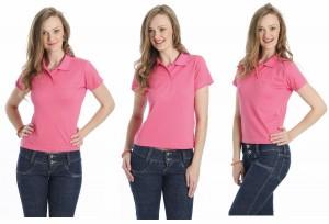 Camisa Polo Feminina