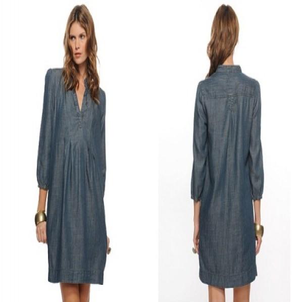 Vestidos-jeans-solto