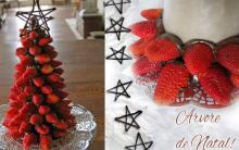 Árvore de Natal de Morangos – Como Fazer e Decorar
