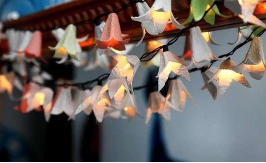 Luminária- Flores-ovos-outra
