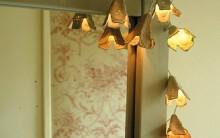 Luminária Flores de Pisca Pisca – Passo a Passo