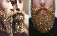 Barba Com Glitter – Nova Tendência Masculina