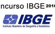 Concurso Público IBGE 2016 – Edital e Inscrições