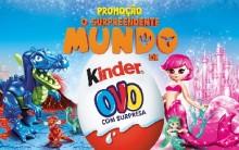 Promoção O Surpreendente Mundo Kinder Ovo – Como Participar