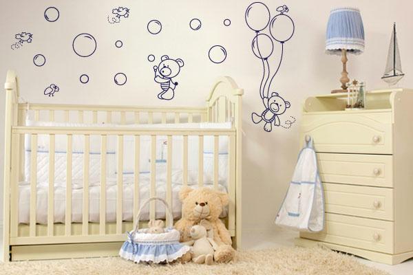 Adesivos de Parede Para Quarto Infantil Como Escolher ~ Adesivos De Parede Para Quarto De Bebe Feminino