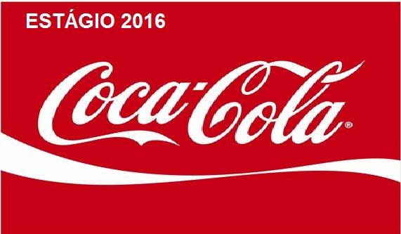 Estágio Coca-Cola 2016 - Inscrições