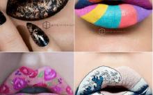Boca Decorada – Com Maquiagem