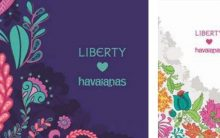 Havaianas e Liberty – Lançamento 2016