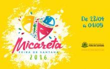 Micareta Feira de Santana 2016 – Atrações
