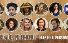 Novela Liberdade Liberdade – Personagens