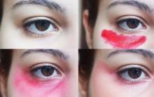 Truque Maquiagem Sandbagging – Olheiras
