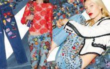 Calças Bordadas Jeans – Modelos Inverno 2016