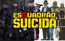 Filme Esquadrão Suicida – Personagens e Vídeo