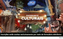 Seleção Pública Projetos Culturais 2017 – Processo Seletivo Caixa