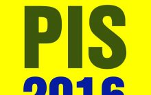 Tabela PIS 2016 – Calendário