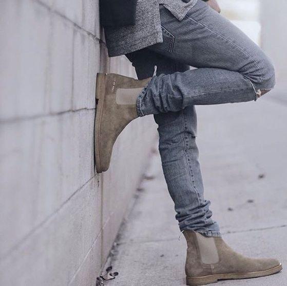 Calçados Masculinos 2017 - chelsea