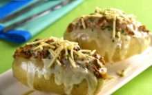 Batata Recheada à Bolonhesa – Receita