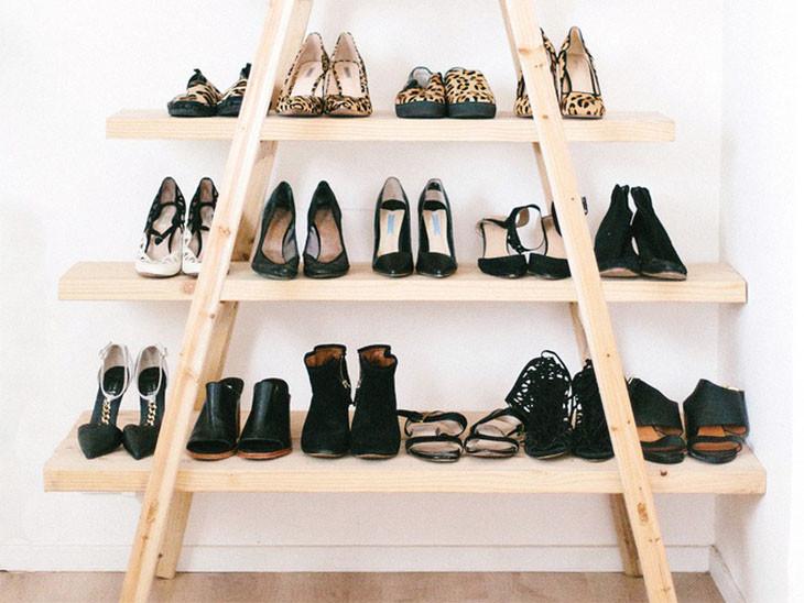 Organizar Sapatos - Dicas Criativas escadas