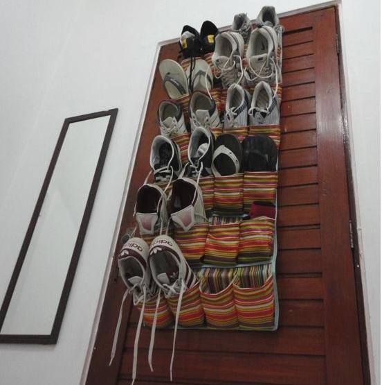 Organizar Sapatos - porta