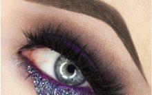 Lágrima de Glitter – Nova Maquiagem