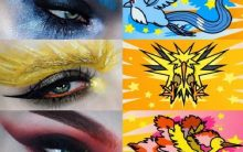 Sombra Pokémon Go – Maquiagem de olho